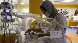 Naissances - neuf bébés - mère malienne - grossesse multiple - Maroc