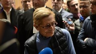 Isabelle Balkany le 18 octobre 2019 après l'annonce de sa condamnation.