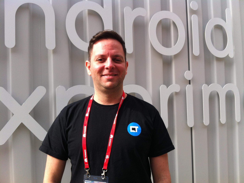 Igor Lopes, editor do Canaltech, no Mobile World Congress, em Barcelona