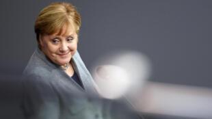 德国总理默克尔资料图片