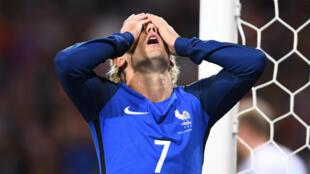 Le footballeur français Antoine Griezmann.