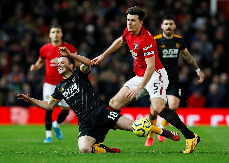 Giải Premier League : Manchester United v Wolverhampton Wanderers. Ảnh ngày 01/02/2020.