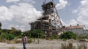 Une mine d'or désaffectée en Afrique du Sud. (image d'illustration)