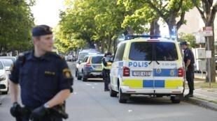 La police suédoise a annoncé mettre en place un groupe d'intervention spécial pour lutter contre les violences des gangs. (Photo d'illustration)