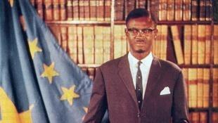 Portrait officiel du Premier ministre Patrice Lumumba.