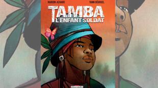 La couverture de la bande dessinée «Tamba, l'enfant soldat» de Marion Achard.