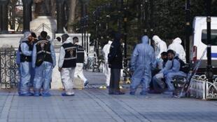 L'attentat a visé mardi 12 janvier un groupe de touristes allemands dans le quartier de Sultanahmet.
