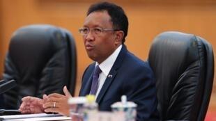 Shugaban kasar Madagascar Hery Rajaonarimampianina.