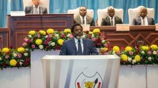 Joseph Kabila, le 19 juillet 2018.