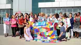 Cuộc tuần hành của giới phụ nữ ủng hộ hoà bình liên Triều - REUTERS /Kyodo