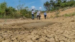 Muertre lenta de Arroyo Bruno en La Guajira (Colombia)