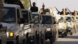 Libyan troops last year