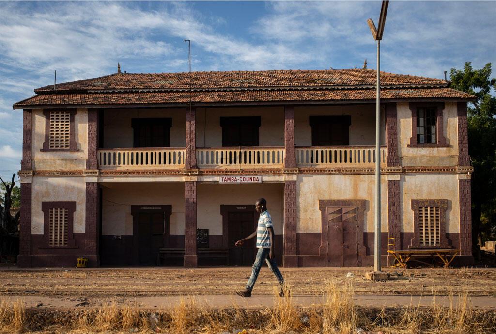 La gare ferroviaire de Tambacounda au Sénégal (image d'illustration).