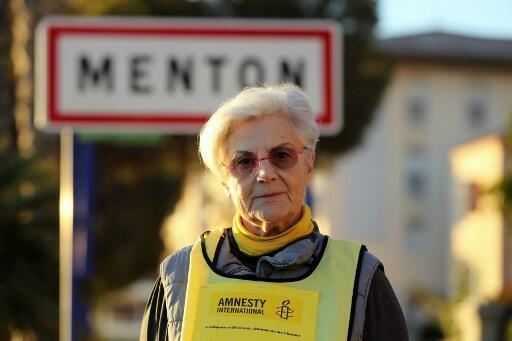Martine Landry, de 73 anos, observadora da ONG Anistia Internacional.