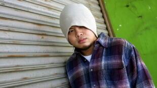 Le rappeur malaisien Namewee, de son vrai nom Wee Meng Chee, en 2010.