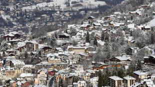 法属阿尔卑斯山圣热尔韦莱班