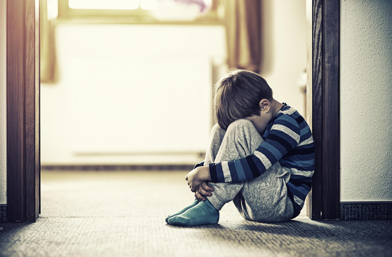 Enfant victime.